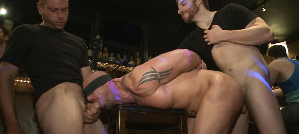 Muscle Stud Mitch Vaughn from Bound In Public