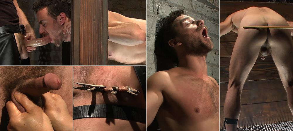 Leon Fox Gets Challenged and Blows His Load from 30 Minutes Of Torment
